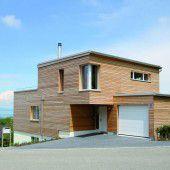 Vorarlberger Häuser mit Schweizer Fundament