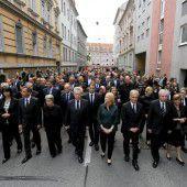 Trauer um Opfer in Graz