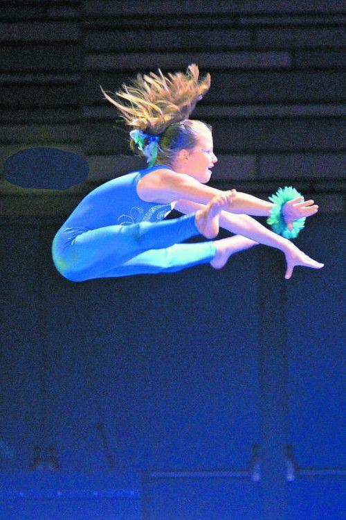 Akrobatische Turneinlagen begeisterten das Publikum. Foto: lerch