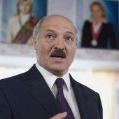 Lukaschenko soll erneut gewählt werden