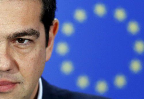 Alexis Tsipras ist mit seinen Papieren in der EU vorerst nicht durchgekommen . Es wird weiterverhandelt. RTS
