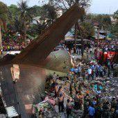 Mehr als 100 Todesopfer bei Flugzeugabsturz