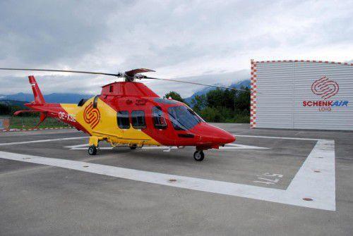 Auch der private Vorarlberger Flugrettungsbetreiber SchenkAir wird von der neuen Vereinbarung erfasst.  Foto: SchenkAir