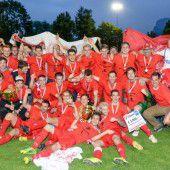 VFV-Cup-Titelverteidiger FC Dornbirn Sieger im Elfmeterkrimi