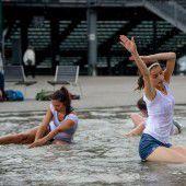 Ein tänzerisches Zeichen für den Stellenwert des Wassers