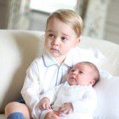 George und Charlotte erobern die Herzen