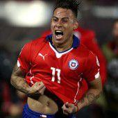 Chile träumt vom Titel nach 2:1 gegen Peru