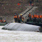 Schiffsdrama in China: Bergung bisher erfolglos
