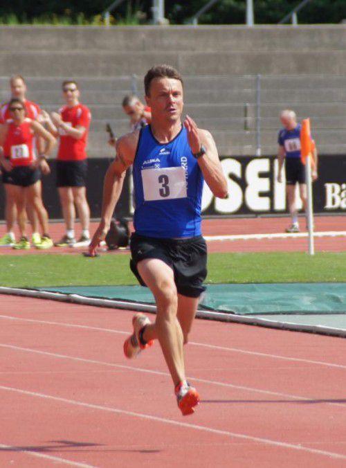 Christian Steurer lief über 800 m neuen VLV-Rekord. Foto: privat