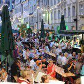 Feldkircher Weinfest in der Marktgasse