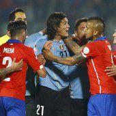 Chile schießt Uruguay aus Copa