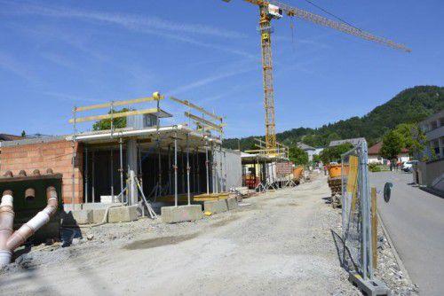 Der Baubeginn erfolgte bereits im Herbst 2014.  Foto: eh