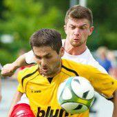 Kampf um den Vorarlberger Pokalsieg