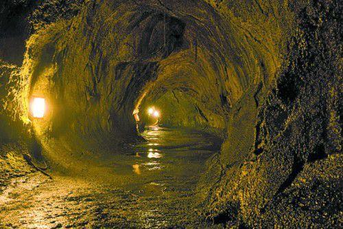Der Höhlenkomplex ist mehr als einen Kilometer lang.