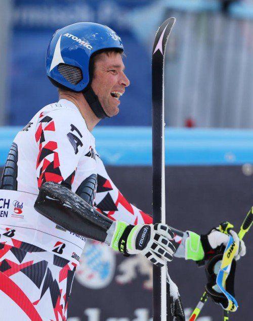 Der Spaß am Skifahren ist immer noch da: Benjamin Raich. Foto: gepa