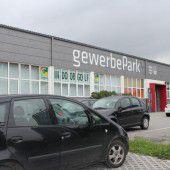 Gewerbepark vor Verkauf