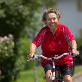 Mit 90 Jahren noch fit wie ein Turnschuh