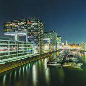 Neues Viertel am Rhein