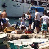Maturant aus Bregenz in Kroatien von Boot erfasst
