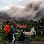 Vulkan zwingt zur Flucht