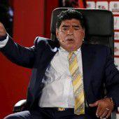 Nun kandidiert Maradona