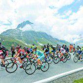 Tour-de-Suisse-Etappe führte durch Vorarlberg