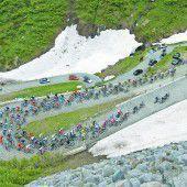 Rad-Spektakel am Gletscher