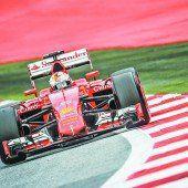 Vettel wird den Favoriten lästig