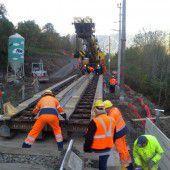 Bahn frei auf der Arlberg-Strecke