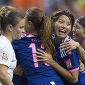 Japan komplettiert WM-Viertelfinale