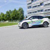 E-Autos bei der Silvretta Rallye