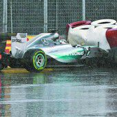 Hamilton dominiert trotz Crash