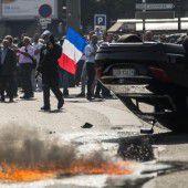 Taxler gegen Uber: Chaos in Frankreich