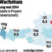 Vorarlberg ist der positive Ausreißer