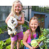 Reiche Gemüseernte dank Nachwuchsgärtnerinnen Theresa und Johanna