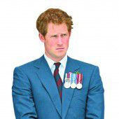 Prinz Harry ist jetzt Ritter