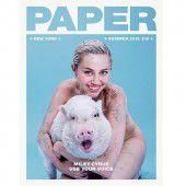 Miley Cyrus posiert nackt mit Schweinchen