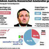 Telekom-Chef Ametsreiter legt auf