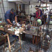 Fünfter Töpfermarkt mit Kunsthandwerk