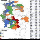 55 Gemeinden beherbergen Asylwerber