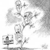 Der Dritte im Bush!