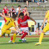 FC Dornbirn zollt gegen Spartak Moskau mit 0:12 viel Tribut