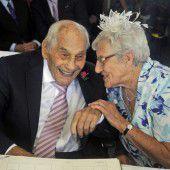 Ältestes Brautpaar  gab sich das Jawort