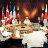 G7 stellen Putin Rute ins Fenster
