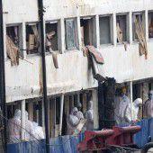 Keine Überlebenden im Schiffswrack