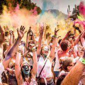 Ein Festival der Farben in Dornbirn
