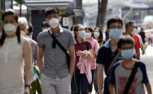 In Südkorea grassiert das Mers-Virus seit rund vier Wochen. Bislang sind 23 Menschen gestorben.  Foto: AP