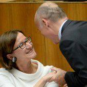 Asylpolitik: Innenministerin von Klug gerügt