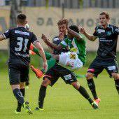 1:1-Remis der Austria gegen St. Gallen