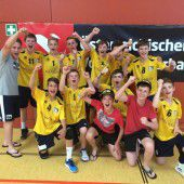 Volleyball-Nachwuchs aus Wolfurt mit tollem Triumph